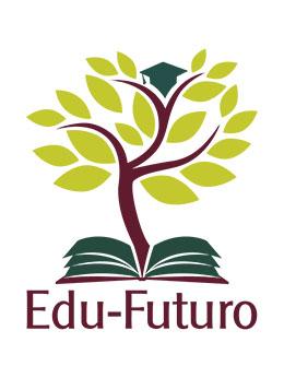 E-F original logo without descriptor, polychromy white back
