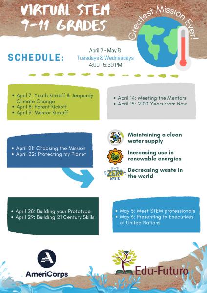 STEM 9-11 Schedule English