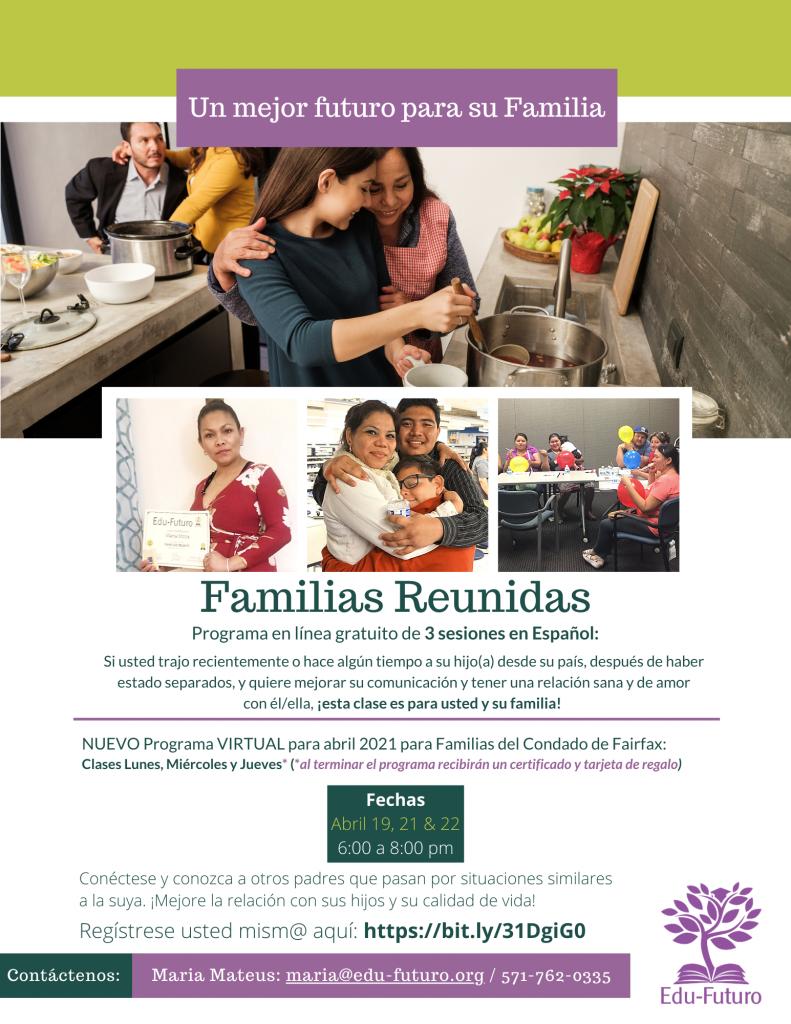 Familias Reunidas Abril 2021