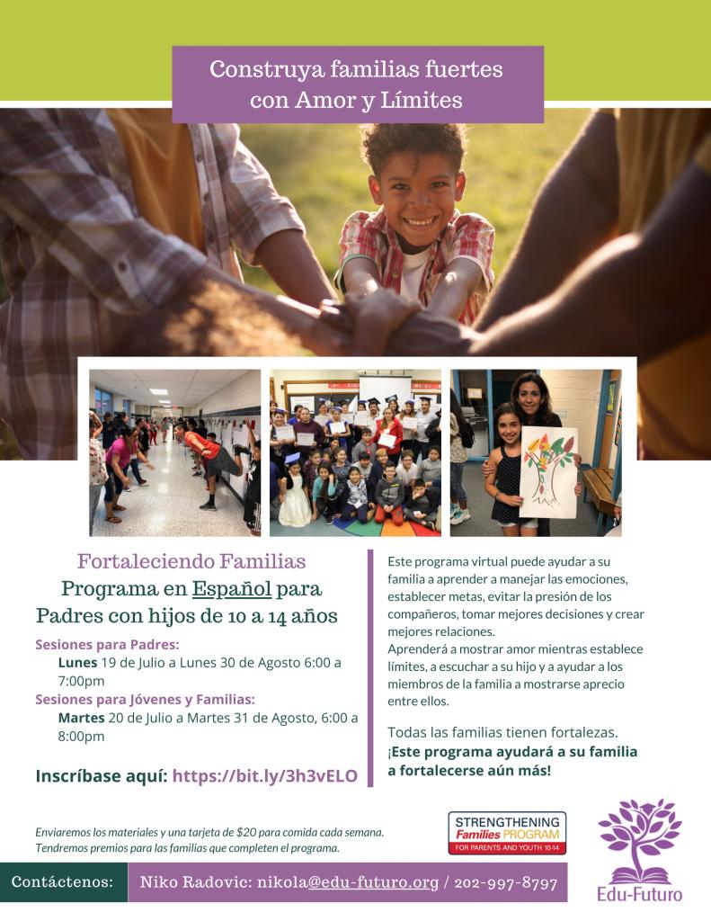 Strengthening Families 1 20212022 SPANISH