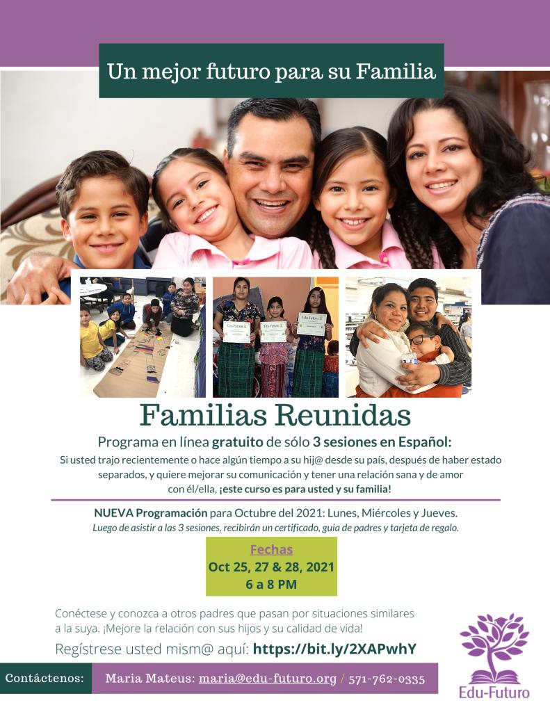 Families Reunite 4 Virtual - Oct