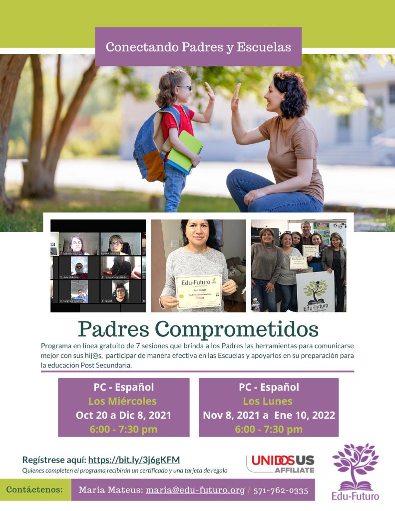 Padres Comprometidos 2 & 3 - Oct.-Dec. 2021