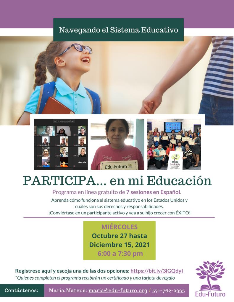 PARTICIPA 5 Oct. 27-Dec 15